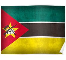 Mozambique Flag Poster