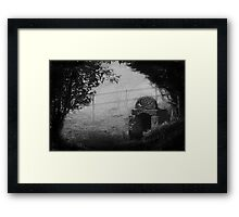 Ladywell In The Mist Framed Print