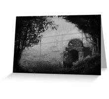 Ladywell In The Mist Greeting Card
