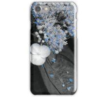 Blue Lace Hydrangea iPhone Case/Skin