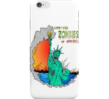 Zombies of America iPhone Case/Skin