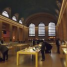 Apple Store, Balcony of Grand Central Terminal, New York City by lenspiro