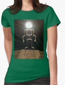Lamp Boy - FredPereiraStudios_Page_2 Womens Fitted T-Shirt