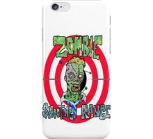 Zombie Shooting Range iPhone Case/Skin