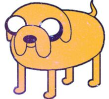 Jake the dog- Adventure Time Sticker