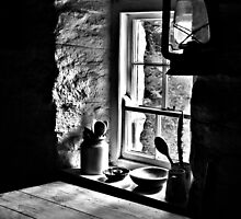 Irish Cottage Window by Nigel Bell