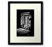 Irish Cottage Window Framed Print