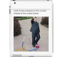 Kim nuclear T-shirt iPad Case/Skin