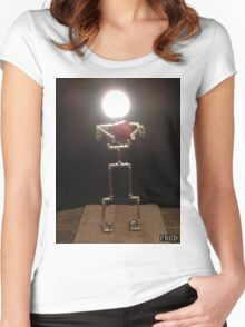 Lamp Boy - FredPereiraStudios_Page_7 Women's Fitted Scoop T-Shirt