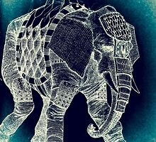 War Elephant - Inverted by matthewsart