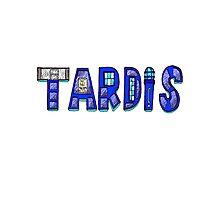 TARDIS LOGO Photographic Print