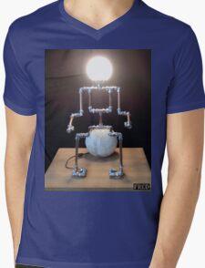 Lamp Boy - FredPereiraStudios_Page_11 Mens V-Neck T-Shirt