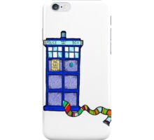 Tardis Scarf iPhone Case/Skin