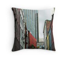 Buildings Throw Pillow