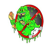 Ghostbusters Slimer Photographic Print