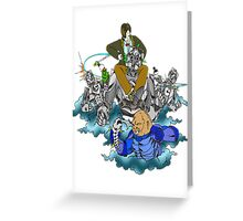 Doctor Who vs the Cybermen Greeting Card