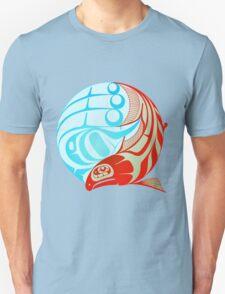 Circling Salmon Unisex T-Shirt