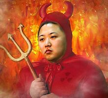 Kim Jung Un is the devil? by montebiancho