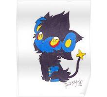 Luxray Pokemon Poster Print Poster