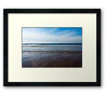 Gentle Waves Framed Print
