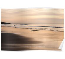Croyde at Dusk Poster