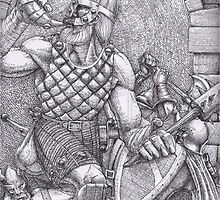 Gaynor battles more Giants by matthewsart
