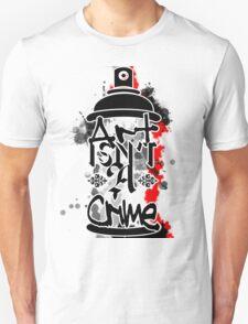 Art Isn't A Crime Unisex T-Shirt
