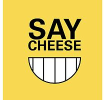say CHEESE! Phone case by HemenDesign