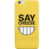 say CHEESE! Phone case iPhone Case/Skin