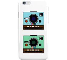 PixelCam Case blue & green iPhone Case/Skin