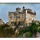 France - View of Beynac Castle by Marlene Hielema