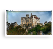 France - View of Beynac Castle Canvas Print