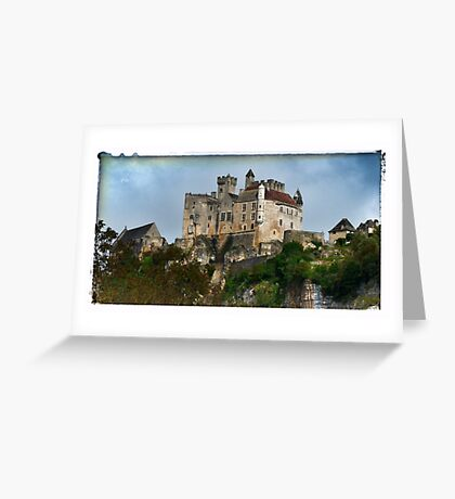 France - View of Beynac Castle Greeting Card
