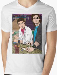Jack Burton & Snake Plissken Mens V-Neck T-Shirt