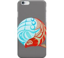 Circling Salmon iPhone Case/Skin