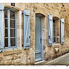 France - House in the medieval village of Gourdon by Marlene Hielema