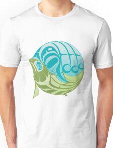 Warm circle salmon Unisex T-Shirt