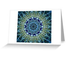 kaleid-ICE-scope 2 Greeting Card