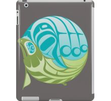 Warm circle salmon iPad Case/Skin