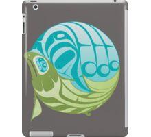 Warm circle salmon iPad Case/Skin
