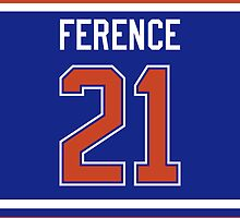 Edmonton Oilers Andrew Ference Jersey Back Phone Case by Russ Jericho