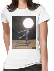 Lamp Baby - FredPereiraStudios_Page_3 Womens Fitted T-Shirt