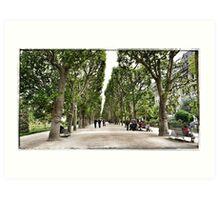Paris - Jardin des Plantes Art Print