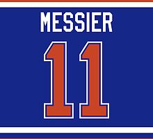 Edmonton Oilers Mark Messier Jersey Back Phone Case by Russ Jericho