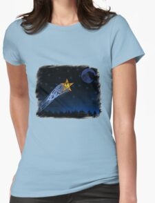 Eagle Shooting star Womens Fitted T-Shirt