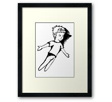I Dreamt I Was Flying Framed Print