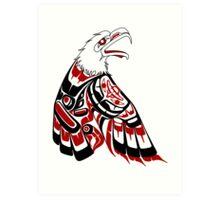 Eagle Human Art Print