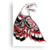 Eagle Human Canvas Print