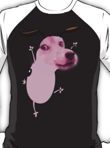 Courage The Cowardly Doge T-Shirt