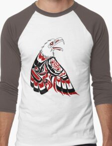 Eagle Human Men's Baseball ¾ T-Shirt